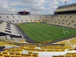 Lsu Stadium Chart Lsu Tiger Stadium View From South Endzone 420 Vivid Seats