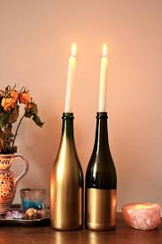 Jessthetics / Upcycled Wine Bottle Candle Holders ...