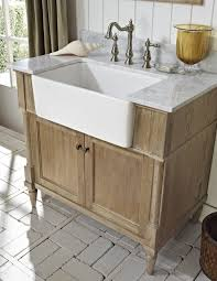 Rustic Bathroom Vanities And Sinks Weathered Oak Rustic Bathroom Vanities With Chic 36 Inch Farmhouse
