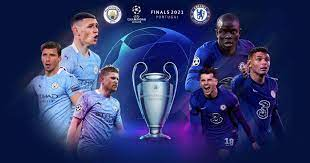 The manchester city and chelsea football clubs will vie for the champions league winners trophy. Bv Hbpuj07umsm