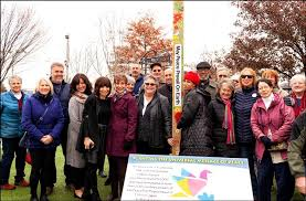 Monument promoting world peace comes to Rocketship Park in Port Jeff -  GreaterPortJeff - greaterlongisland.com