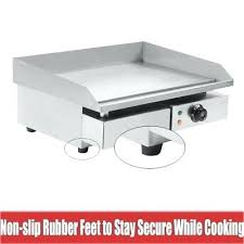 electric countertop grill 3 of electric griddle commercial hot plate restaurant grills countertop electric grill by