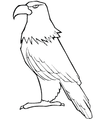 Coloring Pages Of Eagles Bald Eagle Coloring Page Free Eagles