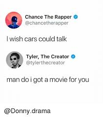 i wish iwish chance the rapper i wish cars could talk tyler the creator スー