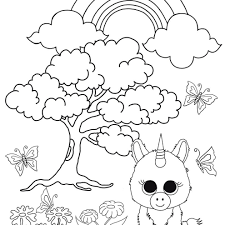 Ty Beanie Boos Coloring Pages At Getdrawingscom Free For Personal