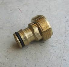 1 garden hose. 3|4 Inch MALE Screw Fitting To Quick Connect Garden Hose 1