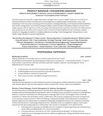 Amazing Product Manager Resume Management Resumes Action Words Tips