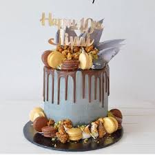 Mens Personalised Birthday Cake Topper Bridal Bling