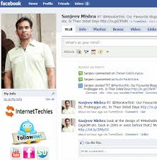 Embed HTML Code On Facebook Profile To Spread Your Social And Blog Links