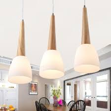 Wood Pendant Light Shades