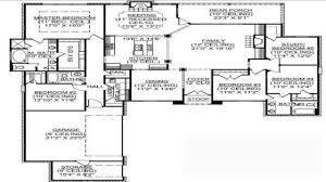 inspiring idea 5 bedroom house plans with bat 15 single story on modern decor ideas