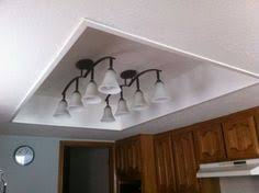kitchen fluorescent lighting ideas. tired of your fluorescent light box remove old framed panel with lights finish off the and add new fixtures kitchen lighting ideas u