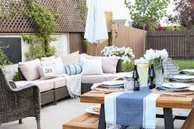 how to update your backyard for entertaining