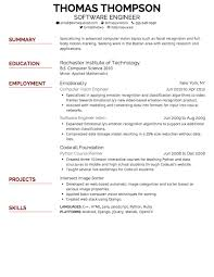 Standard Font Size For Resume What Is The Best Font Size For A Resume Design Resume Template 4