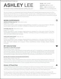 Best Word Resume Templates Good Resume Templates Top Resume