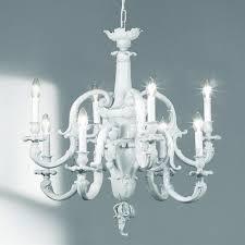 chandelier 21897 8 65 chandelier in white porcelain