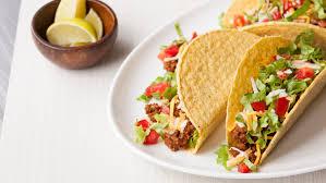 Resultado de imagen de tacos with tomato and lettuce