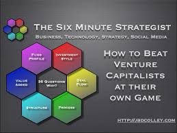 How To Beat Venture Capitalists At Their Own Game Part 5