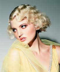 1920s inspired vine hairstyle