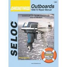 amazon com johnson evinrude outboard 1958 1972 repair and amazon com johnson evinrude outboard 1958 1972 repair and tune up manual automotive