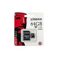 Thẻ Nhớ Kington 64Gb Chính Hãng Tem FPT Bảo Hành 3 Năm