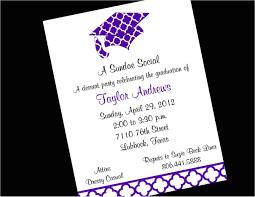 Words For Graduation Invitation Graduation Party Invitation Template