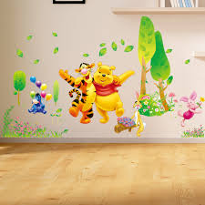 paints abstract winnie the pooh wall decals canada with painting design ideas of winnie the pooh