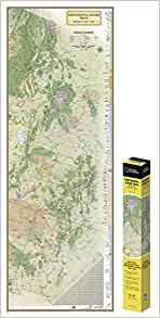 National Geographic Continental Divide Trail In Gift Box