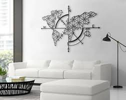 map of life metal world map metal wall decor metal wall art steel world map world map interior housewarming gift on wall art for kitchens metal with metal wall art etsy
