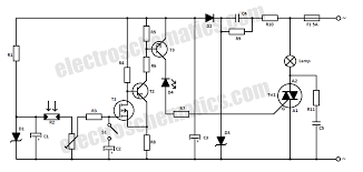 automatic light switch circuit automatic light switch circuit schematic