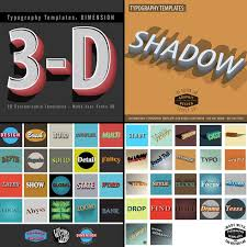 typography templates typography templates series thevectorlab