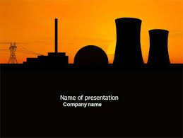 nuclear powerpoint template. Nuclear Power Plant Presentation Template for PowerPoint and Keynote