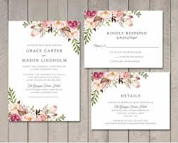 wedding invite template download wedding invitation template 71 free printable word pdf psd