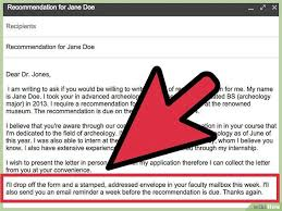 Ask Your Professor For A Letter Of Recommendation Via