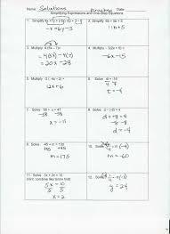 solving two kindergarten 15 multi step equations with fractions worksheet equations with solving two