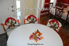 today i will share with you how i make my no sew chair covers from placemats ribbon and safety pins these diy chair covers are so easy