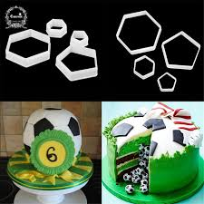 Aliexpresscom Buy Football Fondant Cutter Plastic Cutter Fondant