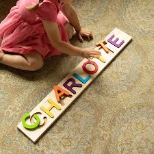 Personalized Name Puzzle Best Toys for 1-Year-Olds in 2019 - Gifts 1-Year-Old Kids