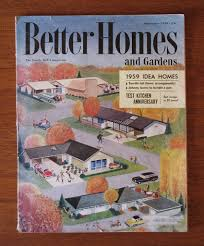Better Homes And Gardens Test Kitchen Better Homes And Gardens 1959 Idea Homes Issue Heather David