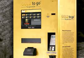 Vending Machines Dubai Delectable Gold To Go THE GOLD ATM Vending Machine