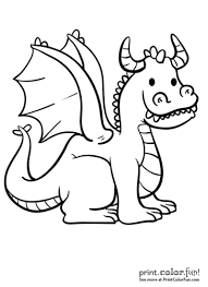 dragon pictures to print and color. Exellent And Goofy Dragon To Dragon Pictures Print And Color