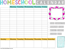 Student Daily Planner With Subjects Free Simple Homeschool Planning Pack The Crafty Classroom