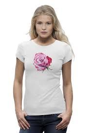 Футболка Wearcraft Premium Большая роза #2742347 – заказать ...