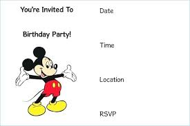 children party invitation templates free kids party invitation template kid birthday templates