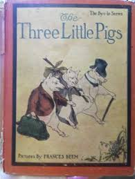 1918 ilrated three little pigs book from by rustysecrets 18 00