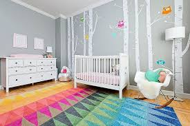 in gallery multi colored rug