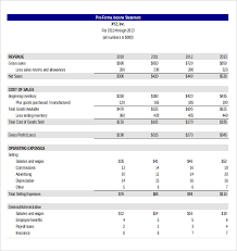 excel income statement income statement template excel flair photo
