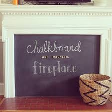 got a fireplace add that to your baby proofing checklist with this fun diy chalkboard and magnetic