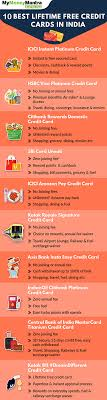 lifetime free credit cards best no