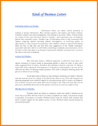 types of business letter format different types of business letters 1